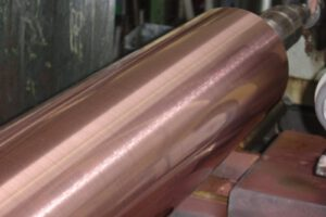 Copper_roller_recovery_refurbishing_spare_roller